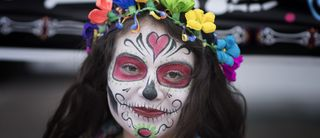"Make-up d'Halloween:  c'est quoi, le ""Día de Muertos""?"