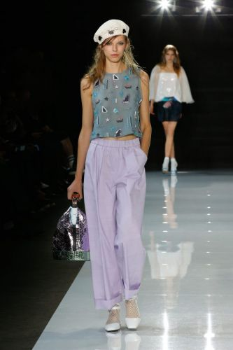 GIORGIO ARMANI PRÉSENTE LA COLLECTION SS 2018 EMPORIO ARMANI À LONDRES