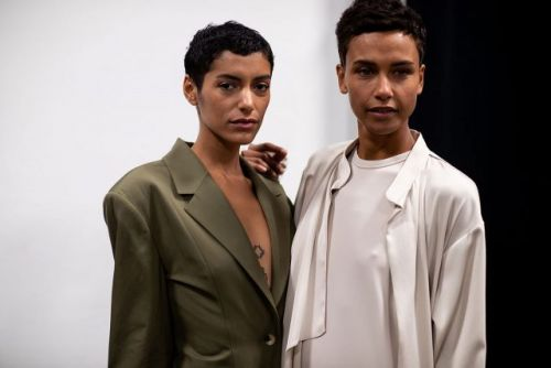 Serenity Now: Backstage at Tommy Ton's Deveaux Show