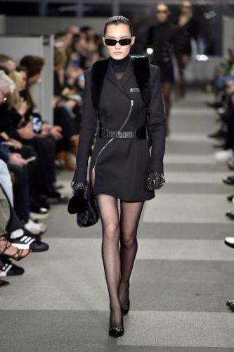 Alexander Wang had lots of great Asian models, meet the Chinese new girl who opened it