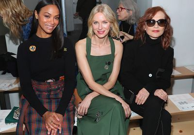 Kate Moss, Kendall Jenner, Isabelle Huppert:  toutes à la Fashion Week de New York !