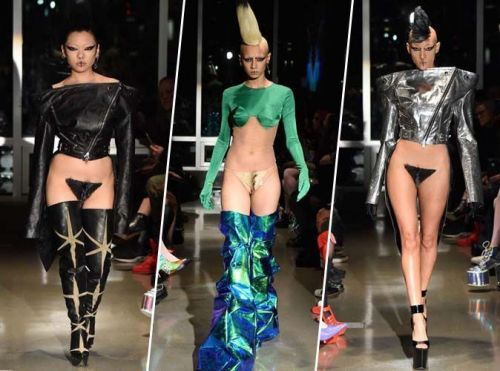 Fashion Week de New York:  des perruques vaginales sur le podium
