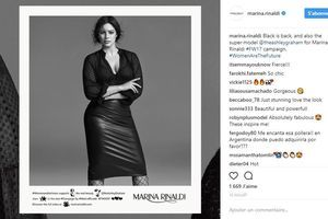 Ashley Graham signe une collection pour Marina Rinaldi