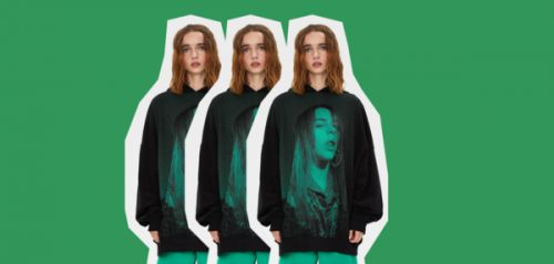 Crush shopping : le sweat déjanté de Billie Eilish pour Bershka