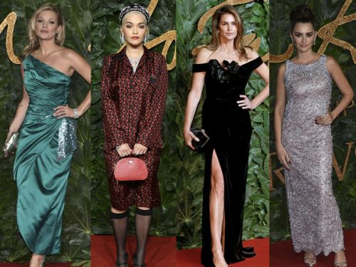 PHOTOS. Penélope Cruz, Kate Moss, Cindy Crawford. pluie de stars lors des British Fashion Awards 2018