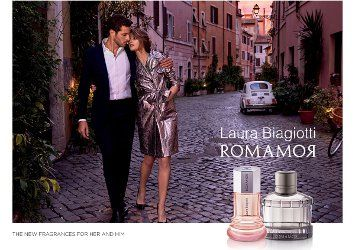 Laura Biagiotti Romamor & Romamor Uomo ~ new fragrances
