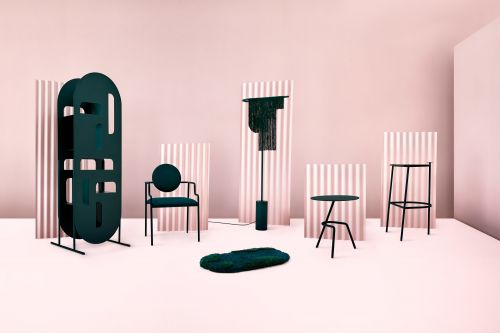 Influences of China and Canada Collide in this Striking Furniture Collection