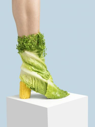 Quirky Shoes Made from Everyday Items