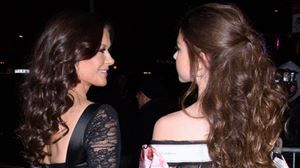 Catherine Zeta-Jones:  sa fille est sa copie conforme