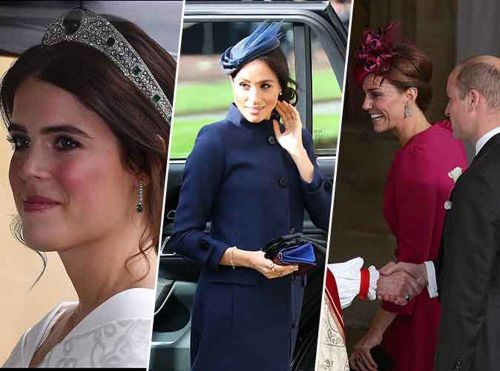 Royal wedding d'Eugénie:  Meghan Markle, Kate Middleton et un incident de culotte !