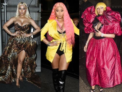 PHOTOS. Tous les looks de Nicki Minaj à la Fashion Week de New York
