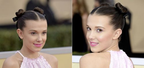 A copier : le beauty look de Millie Bobby Brown