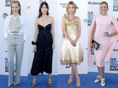 PHOTOS. Dakota Johnson, Amanda Seyfried, Carey Mulligan. les people étaient de sortie aux Spirit Awards