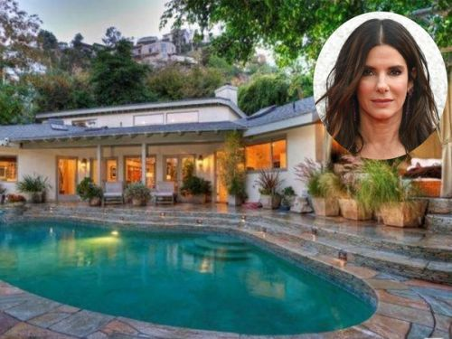 PHOTOS. Sandra Bullock vend sa demeure de Sunset Strip à Los Angeles pour près de 3 millions de dollars