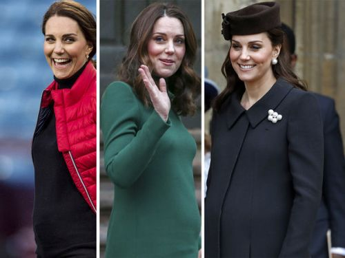 PHOTOS. Retour sur la grossesse de Kate Middleton en images