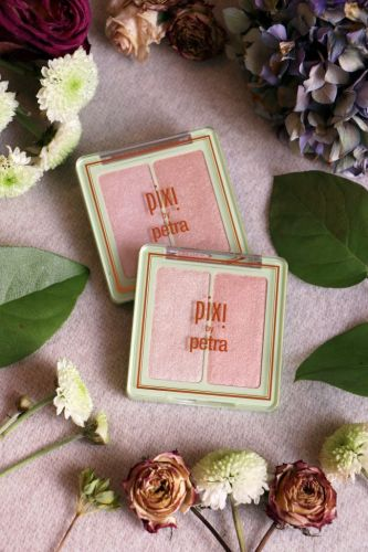 Les highlighters Glow-y Gossamer Duo de Pixi: j'adore!
