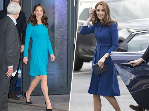 Kate Middleton:  elle la joue Fifty Shades of. Blue !