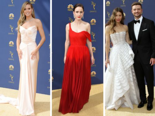 PHOTOS. Emmy Awards 2018:  les plus beaux looks du tapis rouge