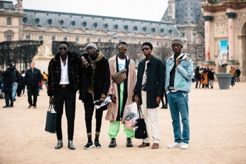 See what the models are wearing off-duty during Paris Men's Fashion Week! Pt. 2