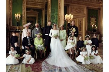Les 5 secrets de la photo officielle du mariage de Meghan et Harry