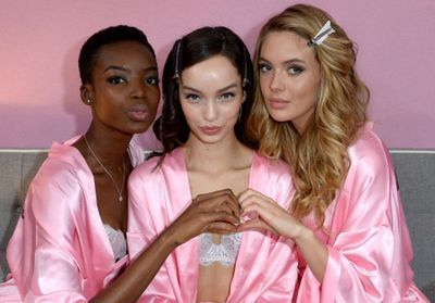 Avant/après:  les Anges de Victoria's Secret sans maquillage