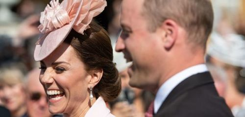 PHOTOS. Kate Middleton et le prince William, tout sourires pour la garden party d'Elizabeth II