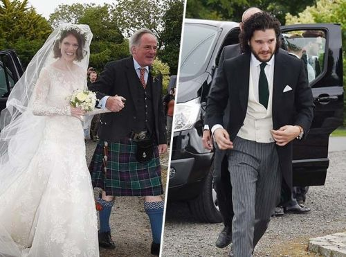 Game Of Thrones:  Kit Harington et Rose Leslie sont mari et femme !